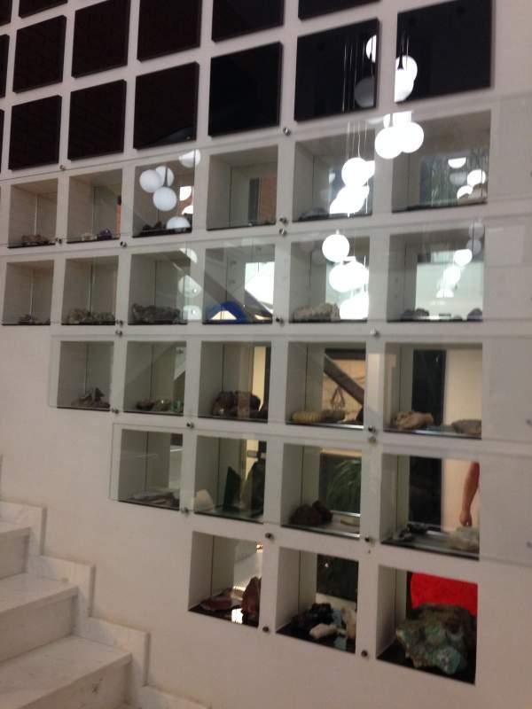 Элементы интерьера из стекла