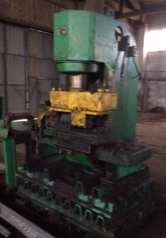 Пресс консольный гидравлический ПК-250 усилием 250 тн