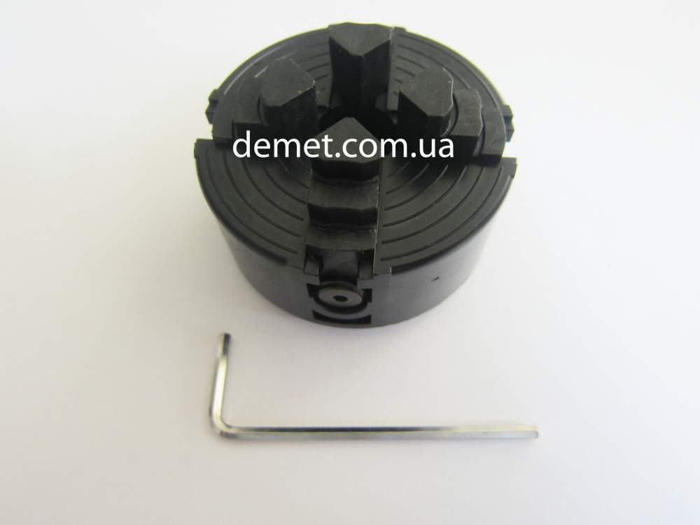 Купити 4-х кулачковий токарський патрон ф50 мм із незалежними кулачками для Proxxon DB 250, артикул 27024