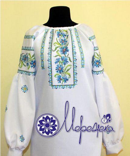 Сшитая заготовка для сорочки под вышивку нитками или бисером Z-07 ... d98eb8f4c7708