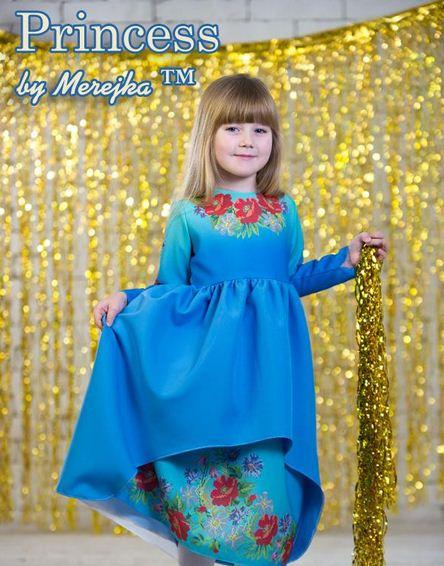 Дитяче плаття під вишивку бісером Принцеса-12 купити в Київ 96e0d49e85717
