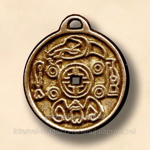 Амулет Корейская монета счастья 22110796