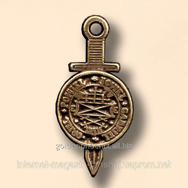 Амулет Божественный меч справедливости со щитом Тетраморфа 22112769