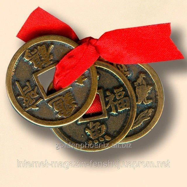 Амулет Китайские монетки счастья 22113358