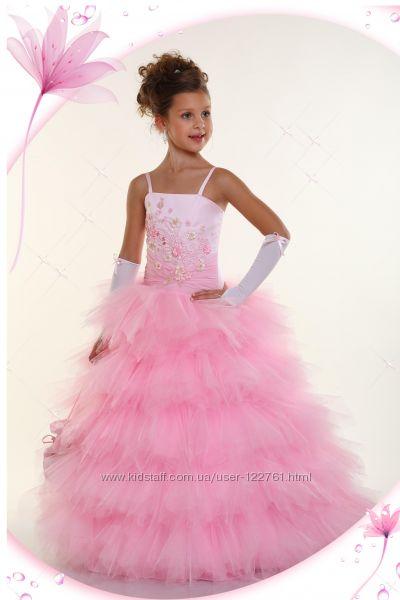 Продажа детских бальных платьев