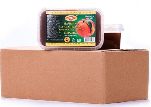 Купить Начинки Украинские: абрикосовая, малиновая, вишневая, клубничная, черносмородиновая, персиковая