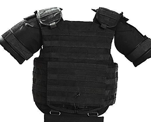 Бронежилет «Корсар М» - разработан для военнослужащих Службы Безопасности Украины, бронежилеты прошли испытания при боевых действиях в Ираке.
