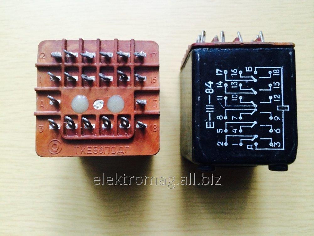 Реле коммутационное постоянного тока ТКЕ56ПОДГ