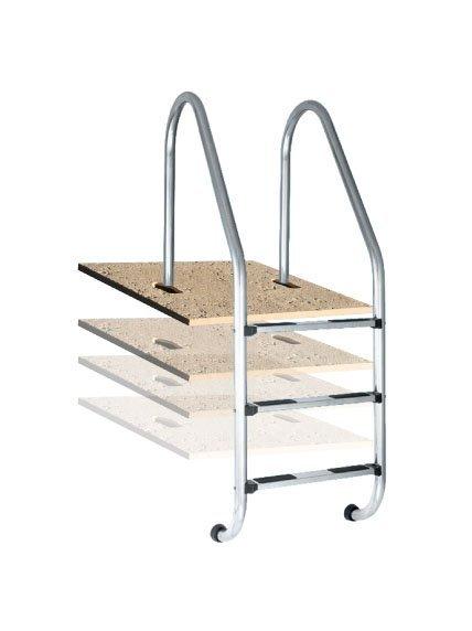 Купить Плитка с закладными элементами для лестницы