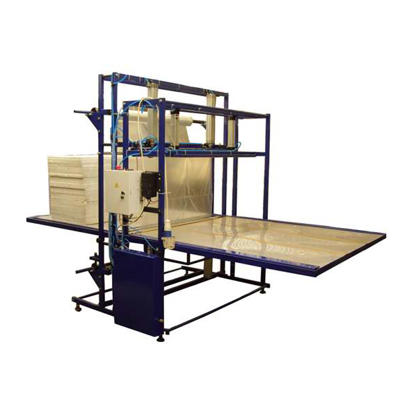 Buy The automatic machine for packaging of feet of plates of polyfoam in PE the film