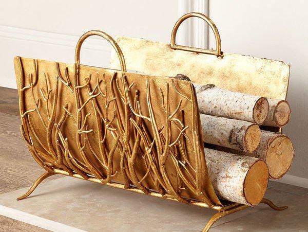 Купить Корзины для дрова у камина