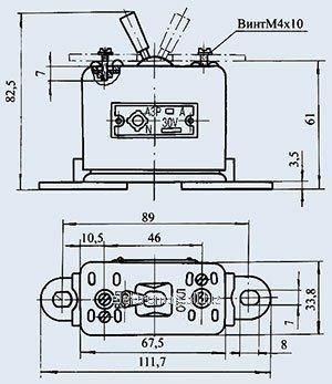 Автомат защиты сети АЗР-90