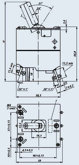 Автомат защиты сети АЗ3К-2