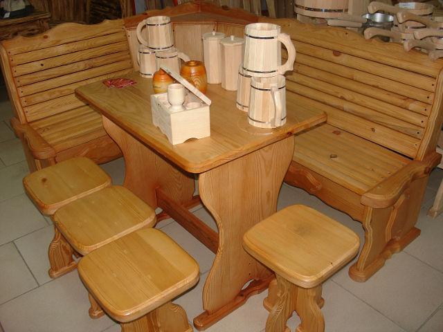 Купить Мебель для сауны из дерева Киев