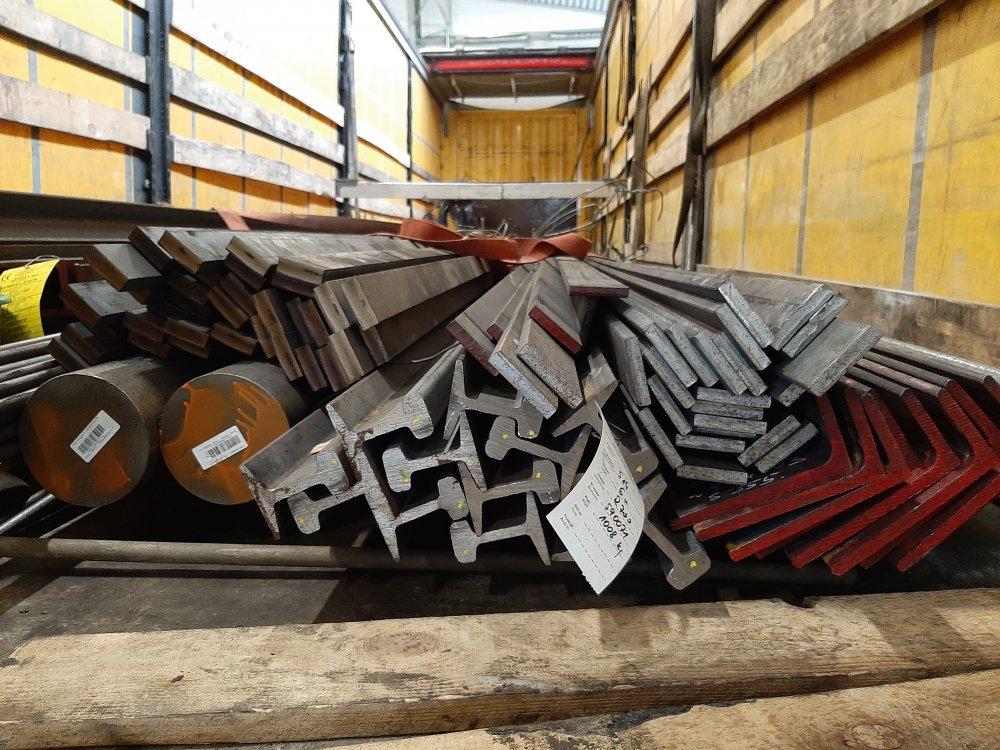 Куточок сталевої ст.09Г2С, ст.3. (90х90-200х200мм - товстостінний).