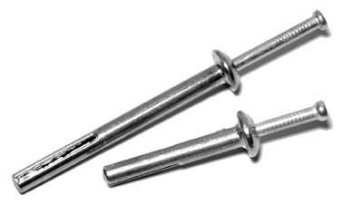 Забиваемый металлический дюбель-гвоздь