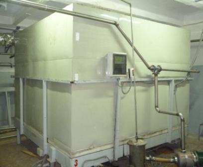 Купити Термостатированний резервуар для зберігання патоки й інших продуктів