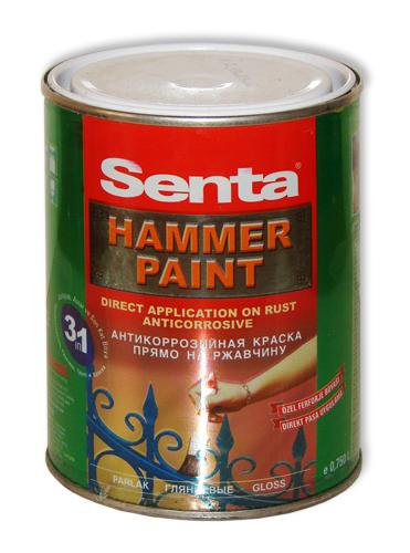 Купить Антикоррозийная краска Senta Hammer. Производство Турция