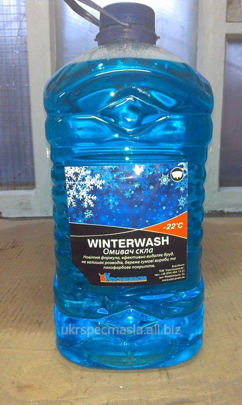 Жидкость для омывания стекол, кан 5л