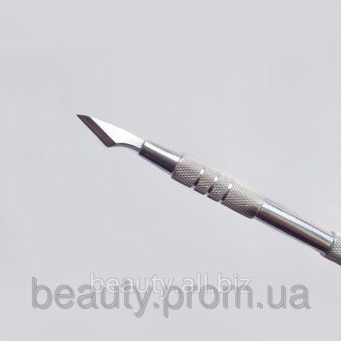 Лопатка Л-02 круглая маникюрная СТАЛЕКС