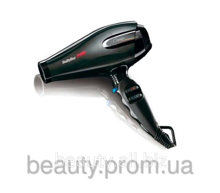 Фен д/волос BaByLiss CARUSO 2400W черный