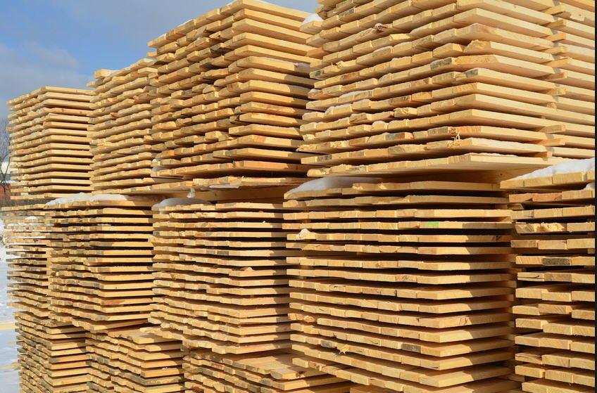 Купить Доска обрезная хвойных пород дерева