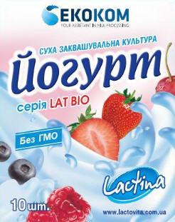 Йогурт (Закваски Lactina)