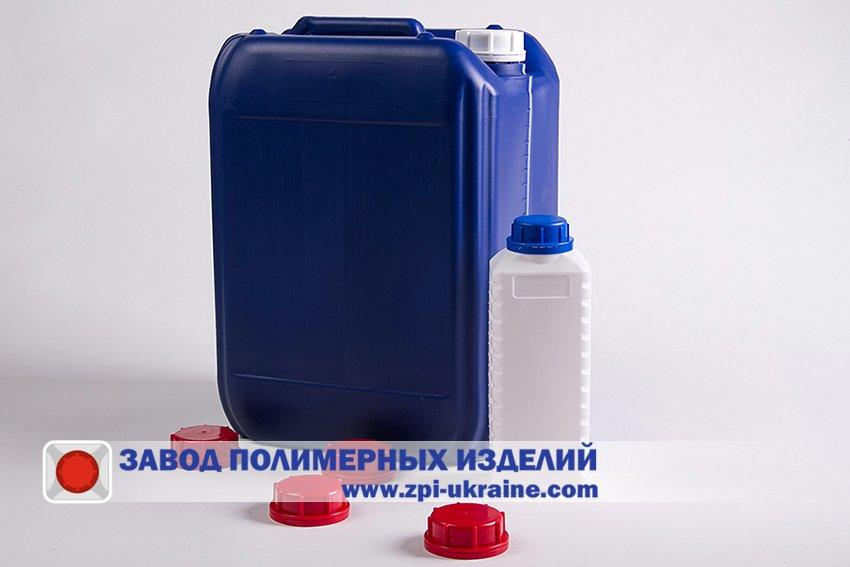 Потребительская тара из полиэтилена, пластика