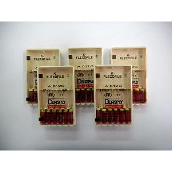K-FlexoFiles, Dentsply Maillefer (К-Флексо Файлы), 25мм, 6шт/уп