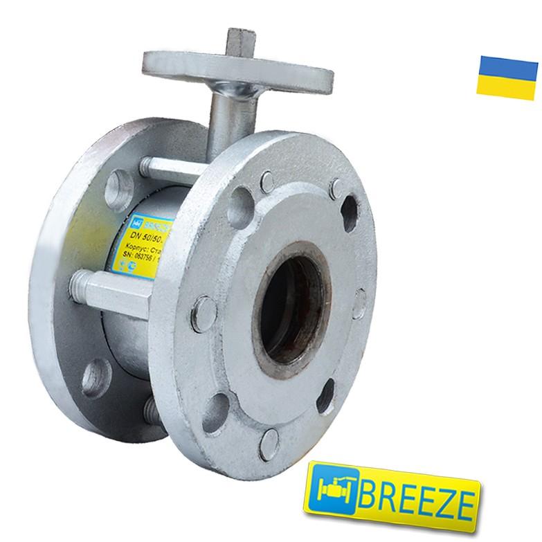 Купити Кран сталевий шаровий BREЕZE 11c942п під електропривод DN 80/80