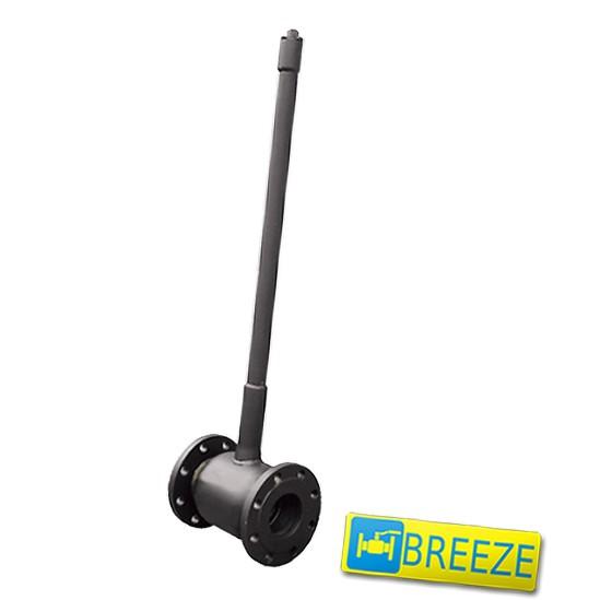 Купить Кран стальной шаровый BREЕZE 11с032п под ковер DN 50/40