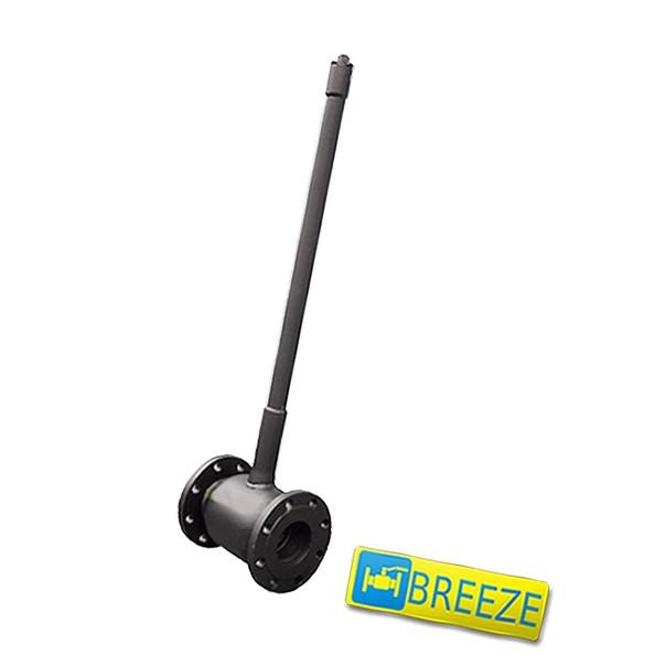 Купить Кран стальной шаровый BREЕZE 11с032п под ковер DN 150/125