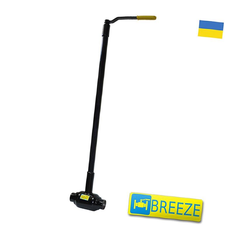 Купить Кран стальной шаровый BREЕZE 11с037п под ковер DN 65/65