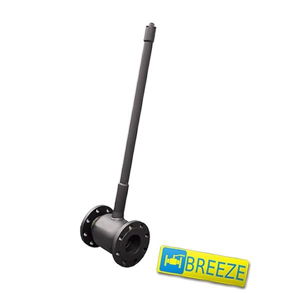 Купить Кран стальной шаровый BREЕZE 11с038п под ковер DN 100/100