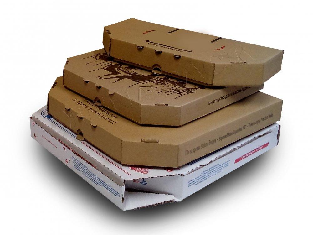 Купить Укпаковка для пиццы с печатью