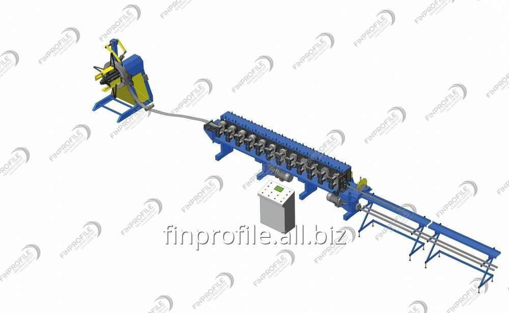Buy Line of the production of reinforcing profiles for polyvinyl chloride resin systems
