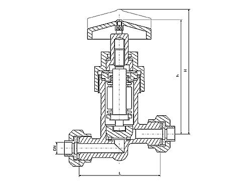 запорный клапан на 5мпа