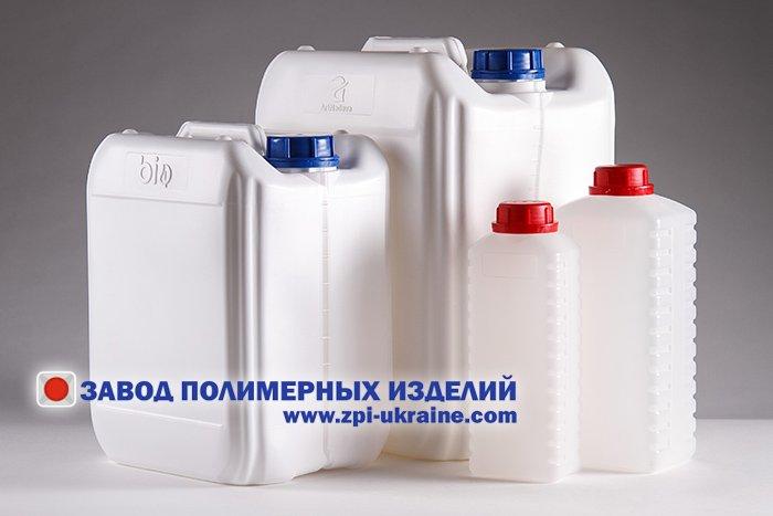 Тара пластиковая для  бытовой химии