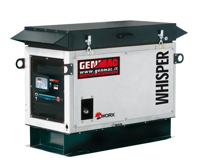 Генератор Genmac Whisper G12000KSA