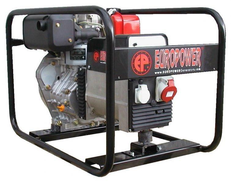 Генератор Europower EP6000D