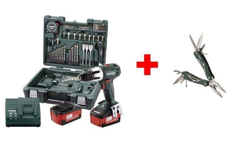 Аккумуляторный шуруповерт Metabo SB 18 LT Mobile Workshop