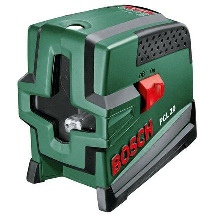 Линейный лазерный нивелир Bosch PCL 20