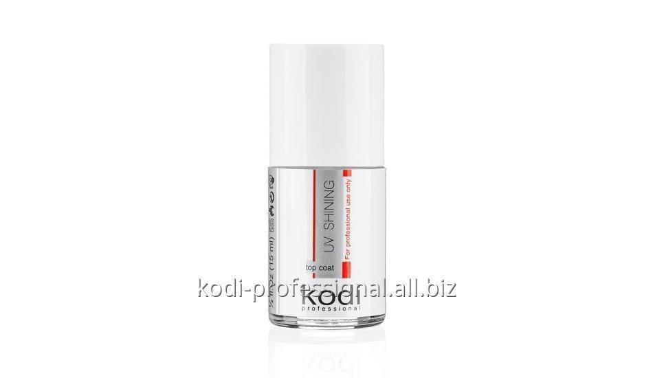 UV Shinning Topcoat Kodi professional 15 ml (Верхнее покрытие для акриловых ногтей)
