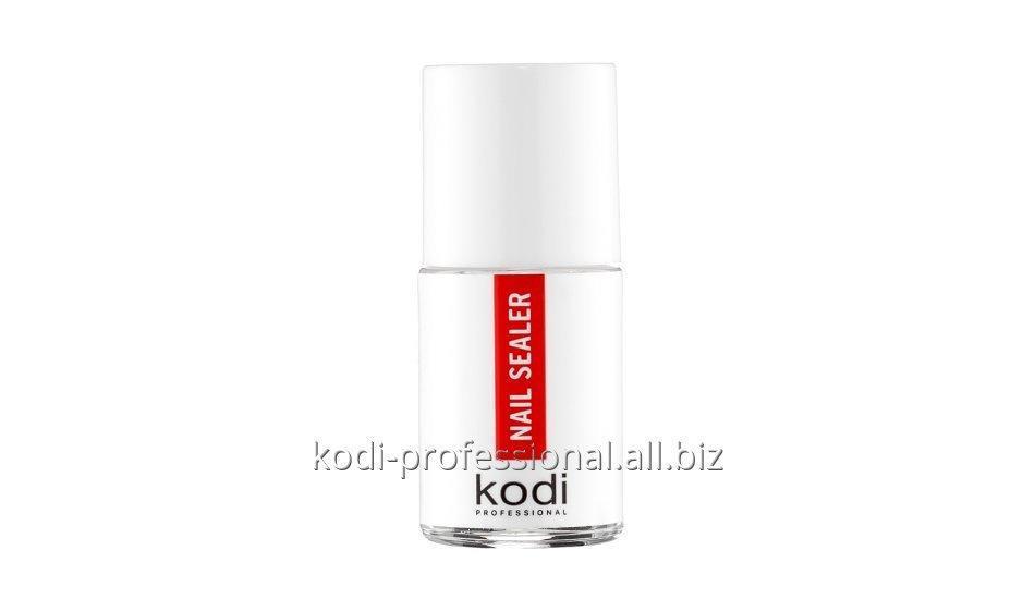 Nail Sealer Kodi professional 15 ml (Верхнее покрытие для акриловых ногтей с ультрафиолетом)