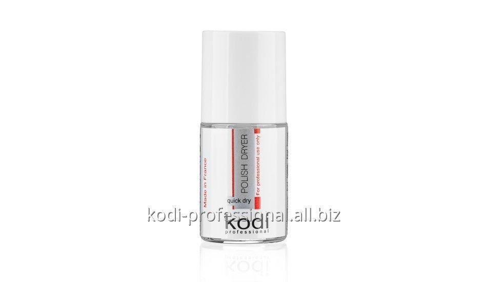 Polish Dryer Kodi professional 15 ml  Сушка закрепитель для лака