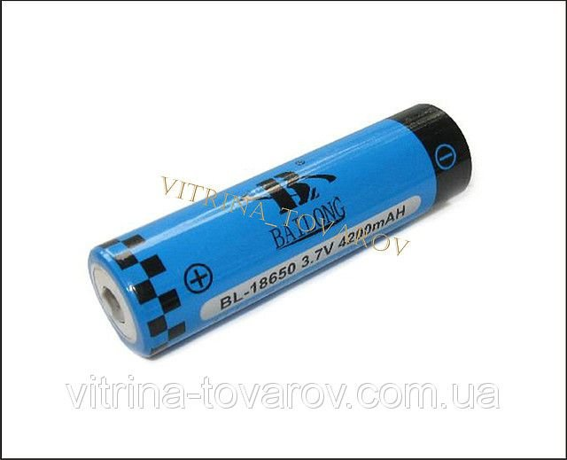 Аккумулятор батарея Bailong bl-18650 4200 mAh