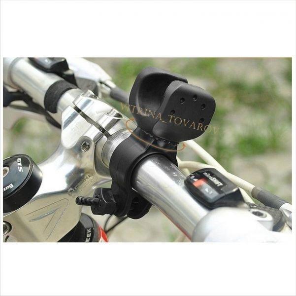 Велокрепление крепление на велосипед держатель фонаря 306