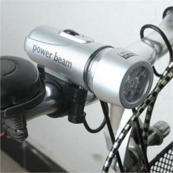 Велосипедная фара и задний фонарь Power Beam велофонарь (набор)