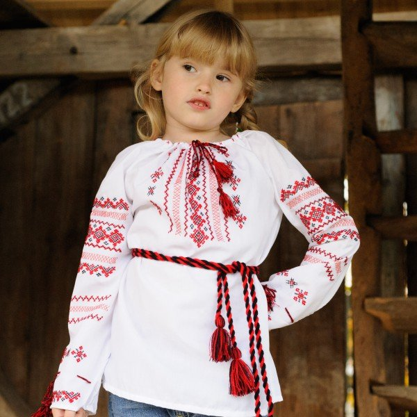 Сорочка - вишиванка дитяча ручної роботи купити в Дніпро 497d2323ae0c8