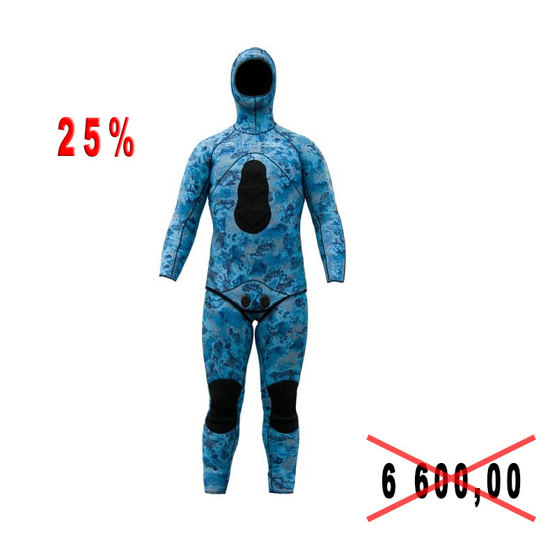 Гидрокостюм для подводной охоты Picasso BLUE OCEAN 3 mm. p.L